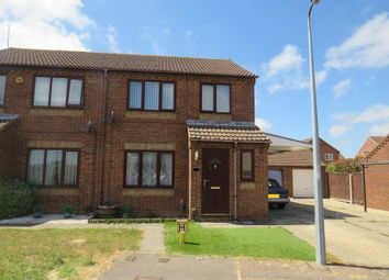 Thumbnail 3 bedroom semi-detached house for sale in Foxglove Drive, Bradwell, Great Yarmouth