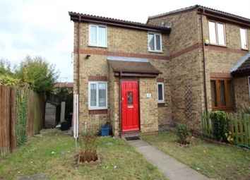 Thumbnail 1 bed end terrace house to rent in Asquith Close, Chadwell Heath, Romford