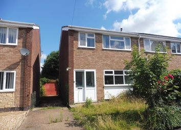 Thumbnail 3 bed end terrace house for sale in Hothorpe Close, Binley, Coventry