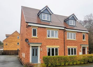 Thumbnail 4 bed semi-detached house for sale in Wakenshaw Drive, Newton Aycliffe