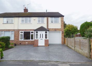 Thumbnail 5 bed semi-detached house for sale in Hillside Grove, Penketh, Warrington