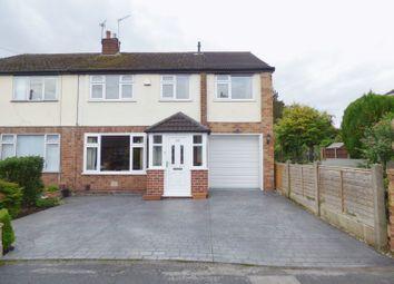 Thumbnail 5 bedroom semi-detached house for sale in Hillside Grove, Penketh, Warrington