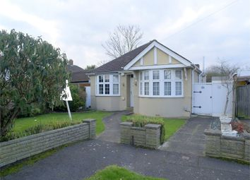 Thumbnail 2 bed detached bungalow for sale in Devon Way, West Ewell, Epsom