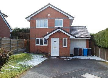 Thumbnail 3 bed detached house for sale in Mills Farm Close, Oldham