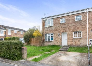 Thumbnail 3 bed end terrace house for sale in Rockall Close, Southampton