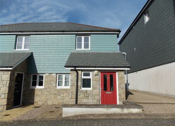 Thumbnail 2 bedroom end terrace house for sale in Whym Kibbal Court, Redruth