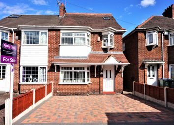 Thumbnail 4 bed semi-detached house for sale in Lynton Avenue, West Bromwich