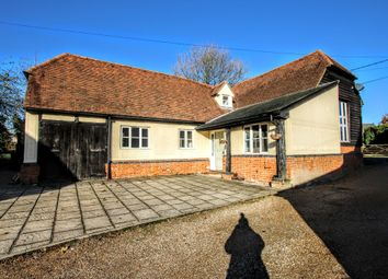 Thumbnail 3 bed barn conversion for sale in Bambers Green, Takeley, Bishop's Stortford