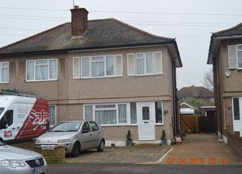 Thumbnail 3 bed semi-detached house to rent in Frogmore Avenue, Hayes