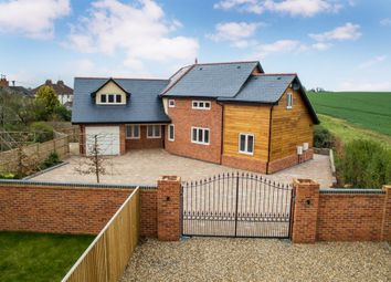 Thumbnail 4 bedroom detached house for sale in Woodcote Road, South Stoke, Reading