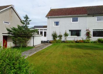 Thumbnail 3 bed semi-detached house for sale in Langwell Court, Thurso