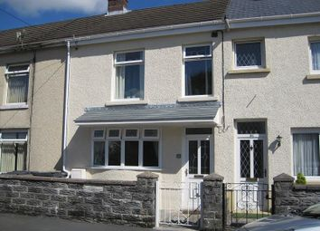 Thumbnail 3 bed terraced house to rent in Cwmtawe Road, Ystradgynlais, Swansea.