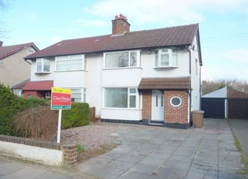 Thumbnail 3 bedroom property to rent in Teehey Lane, Wirral