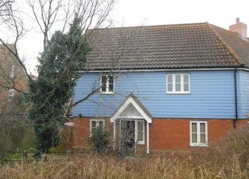 Thumbnail 2 bed end terrace house for sale in Greenfinch Close, Stowmarket