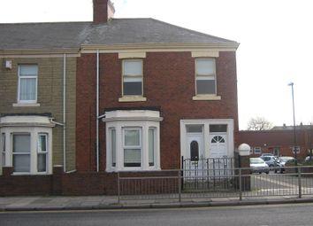 Thumbnail 3 bed flat to rent in Victoria Road East, Hebburn