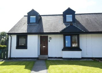 Thumbnail 4 bed semi-detached house for sale in Finlayson Road, Balmacara, Kyle