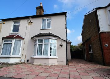 Thumbnail 4 bed semi-detached house for sale in Hook Road, Epsom