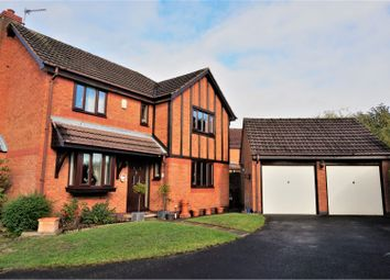 Thumbnail 4 bed detached house for sale in Shaw Close, Fradley, Lichfield