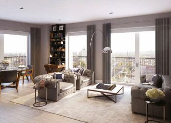 Thumbnail 2 bed flat for sale in Keybridge Lofts, Nine Elms, London