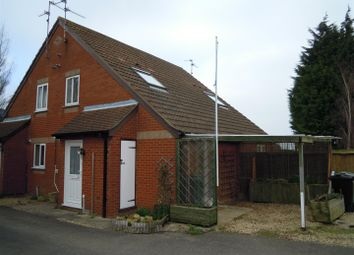 Thumbnail 1 bed end terrace house to rent in The Brambles, Deeping St. James, Peterborough