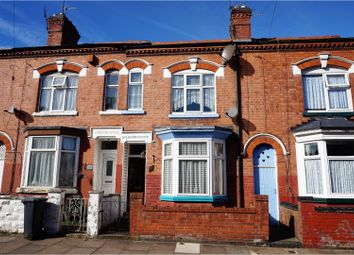 Thumbnail 3 bed terraced house for sale in Oban Street, Leicester