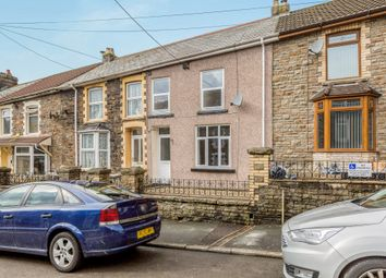 Thumbnail 3 bed terraced house for sale in Dunraven Place, Ogmore Vale, Bridgend