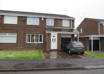Thumbnail 4 bed semi-detached house for sale in Henley Close, Cramlington