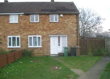 Thumbnail 3 bed semi-detached house to rent in Keepers Close, Luton