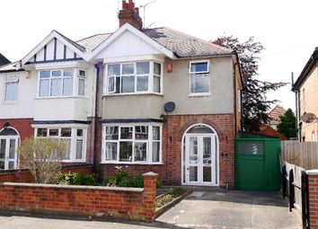 Thumbnail 3 bedroom semi-detached house for sale in Sybil Road, Leicester