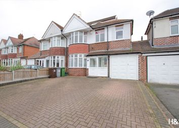 Thumbnail 4 bed semi-detached house for sale in Haslucks Croft, Shirley, Solihull