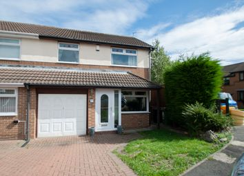 Thumbnail 3 bed semi-detached house for sale in Mountston Close, Hartlepool