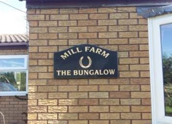 Thumbnail 3 bedroom equestrian property for sale in Mill Lane, Wisbech, Cambridgeshire