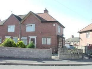 Thumbnail 2 bed semi-detached house to rent in Harrowby Road, Meir, Stoke-On-Trent