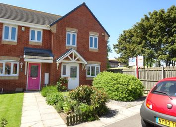 Thumbnail 3 bed end terrace house to rent in Bevan Close, Stockton-On-Tees