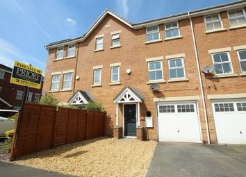 Thumbnail 4 bed town house for sale in Fairfax Close, Biddulph, Stoke-On-Trent