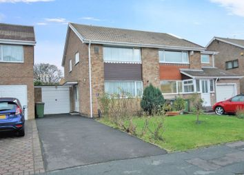 Thumbnail 2 bed semi-detached house for sale in Epping Close, Marske-By-The-Sea, Redcar