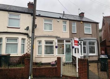 Thumbnail 2 bed terraced house for sale in Stevenson Road, Coventry, West Midlands