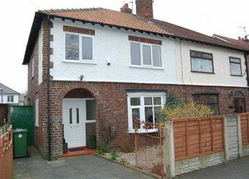 Thumbnail 3 bedroom semi-detached house to rent in Rosedale Avenue, Crosby, Liverpool