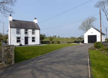 Thumbnail 3 bed detached house for sale in Llanfechell, Amlwch
