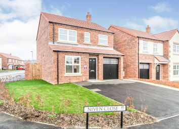 Thumbnail 3 bed detached house for sale in Niven Close, Hartlepool