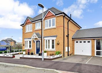 Thumbnail 4 bed detached house for sale in Crocus Avenue, Minster On Sea, Sheerness, Kent