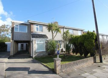 Thumbnail 5 bed semi-detached house for sale in Lon Cefn Mably, Rhoose, Barry