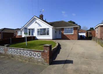 Thumbnail 2 bedroom semi-detached bungalow for sale in Higher Drive, Lowestoft
