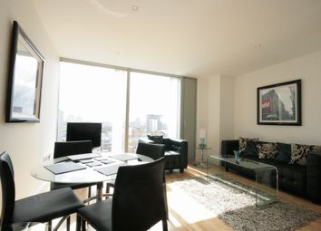 Thumbnail 1 bedroom flat to rent in The Landmark, West Tower, 22 Marsh Wall, 22 Marsh Wall, London
