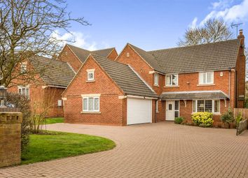 Thumbnail 4 bed detached house for sale in The Spinney, Brailsford, Ashbourne