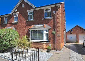 Thumbnail 3 bed semi-detached house for sale in Lindengate Avenue, Hull, Yorkshire, Oed