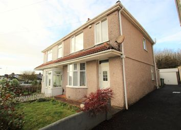 Thumbnail 3 bed semi-detached house for sale in Bickham Road, St. Budeaux, Plymouth PL5.