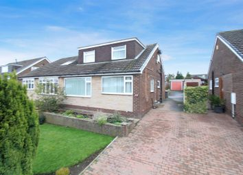 Thumbnail 4 bed semi-detached bungalow for sale in Elmroyd, Rothwell, Leeds
