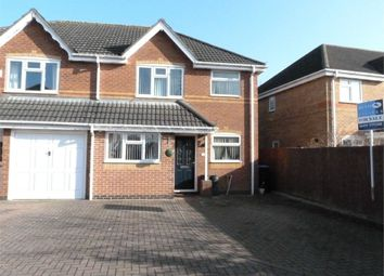 Thumbnail 3 bed semi-detached house for sale in Jasmine Close, Lutterworth