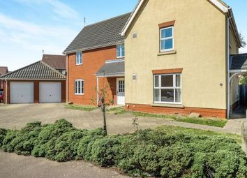 Thumbnail 3 bed semi-detached house for sale in Carlton Colville, Lowestoft, Suffolk